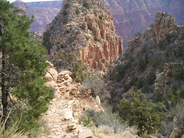 Grand Canyon Hiking Grandview Trail